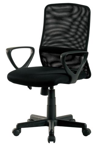 【送料無料】オフィスチェア 激安 肘付き キャスター付き 椅子 肘掛 おしゃれ メッシュチェアー KHC-832L