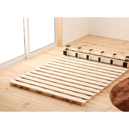 すのこベッド シングル ロール式 ROLLSUNOKO-S