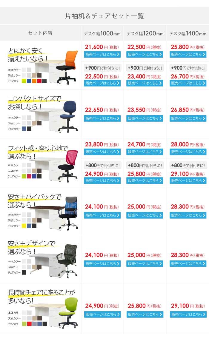 ルキットの最安値オフィスデスクシリーズ ナッツデスク